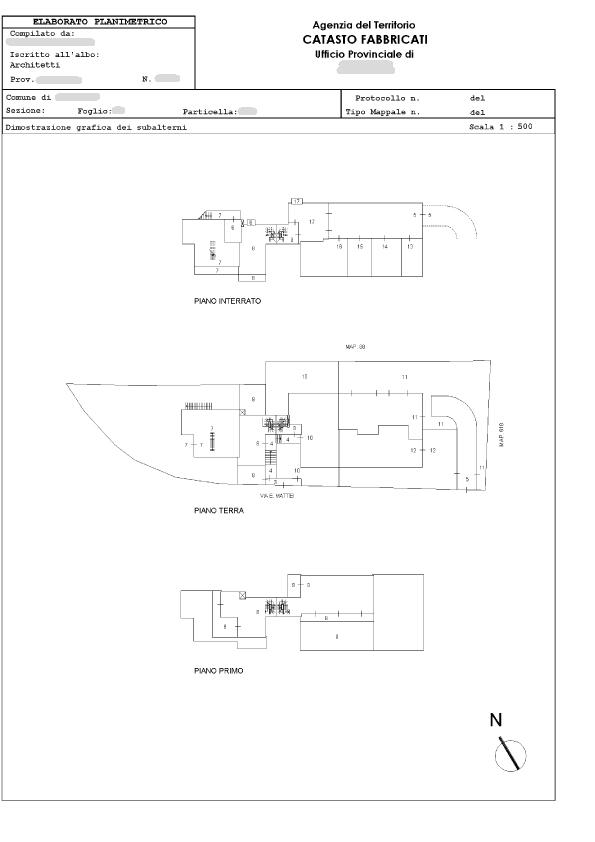 elaborato planimetrico